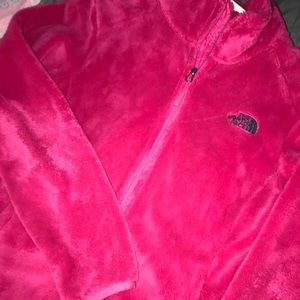 Women's pink north face